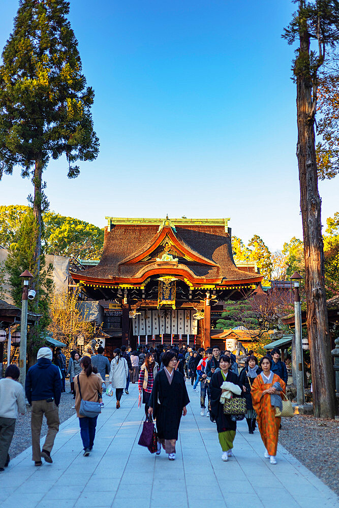 Kitano Tenmangu Shrine, Kyoto, Kansai, Japan, Asia