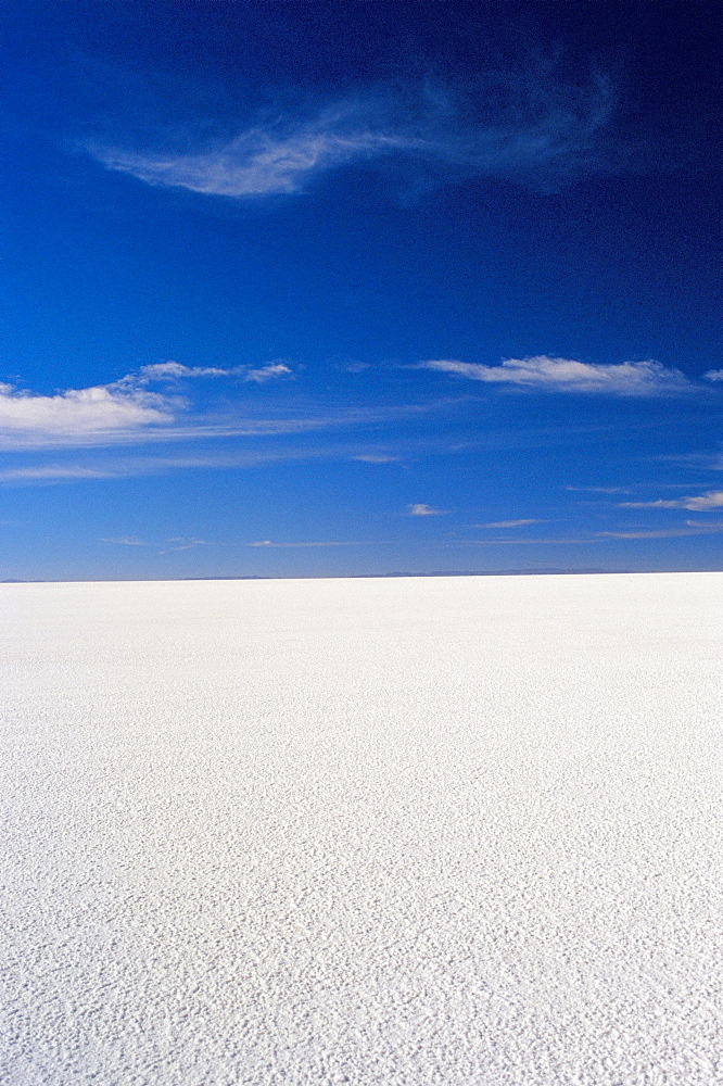 Salt desert of Uyuni, Bolivia, South America