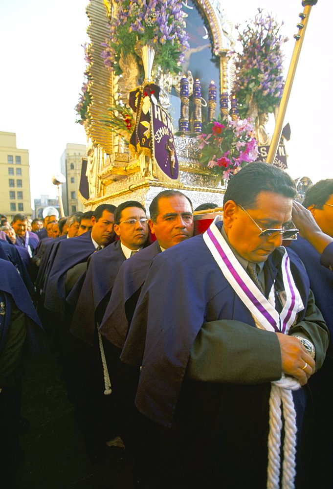 Easter Sunday, Lima, Peru, South America - 739-319