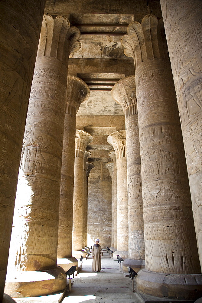 The Temple of Edfu, Egypt, North Africa, Africa