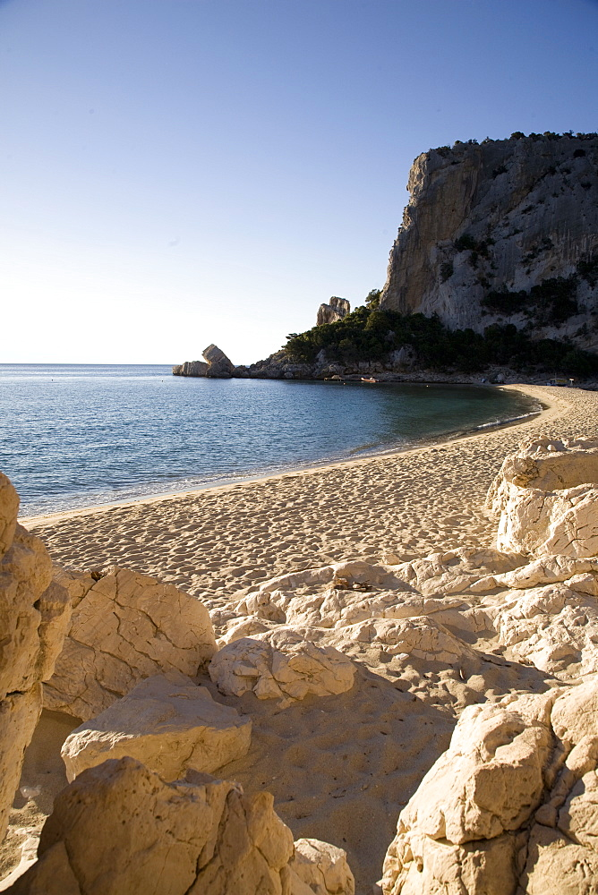 The beach of Cala Luna, Gulf of Orosei, Sardinia, Italy, Mediterranean, Europe