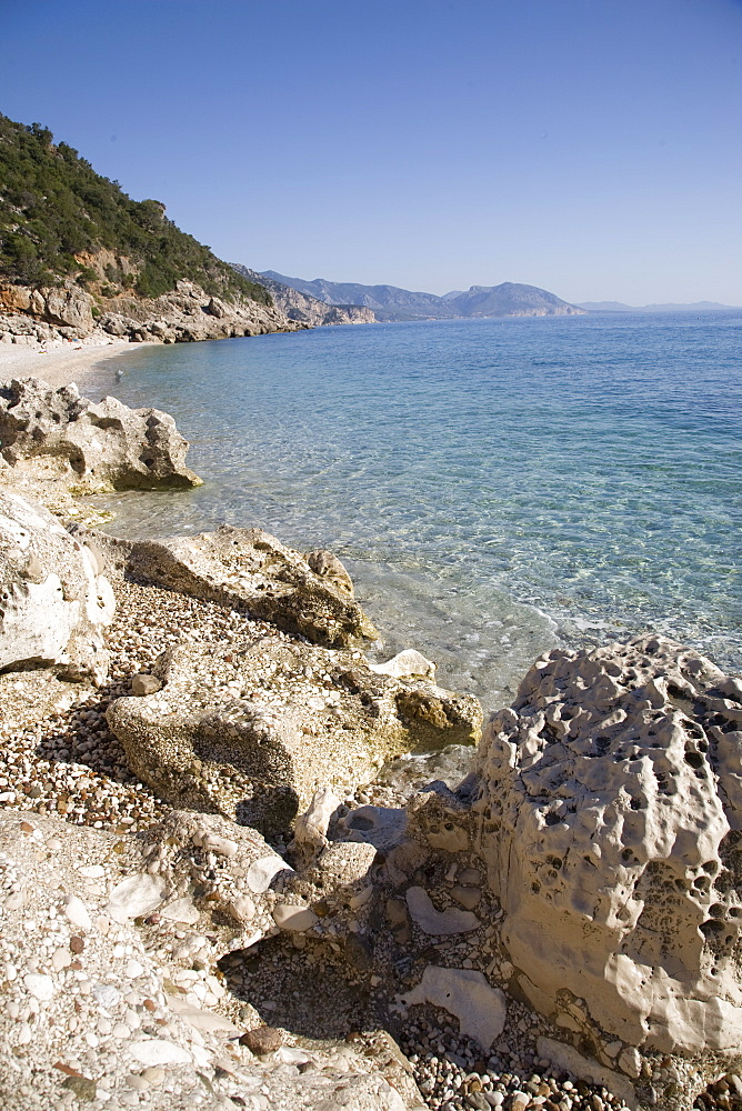 Cala Mariolu, Gulf of Orosei, Sardinia, Italy, Mediterranean, Europe