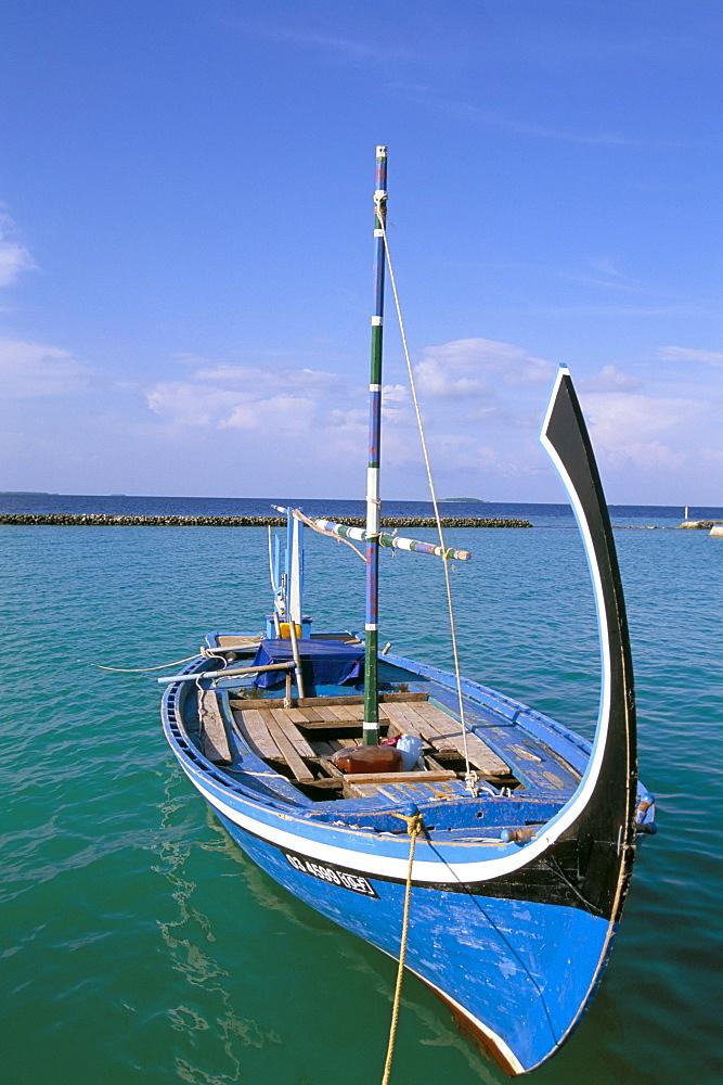 Dhoni, Baa Atoll, Maldives, Indian Ocean, Asia