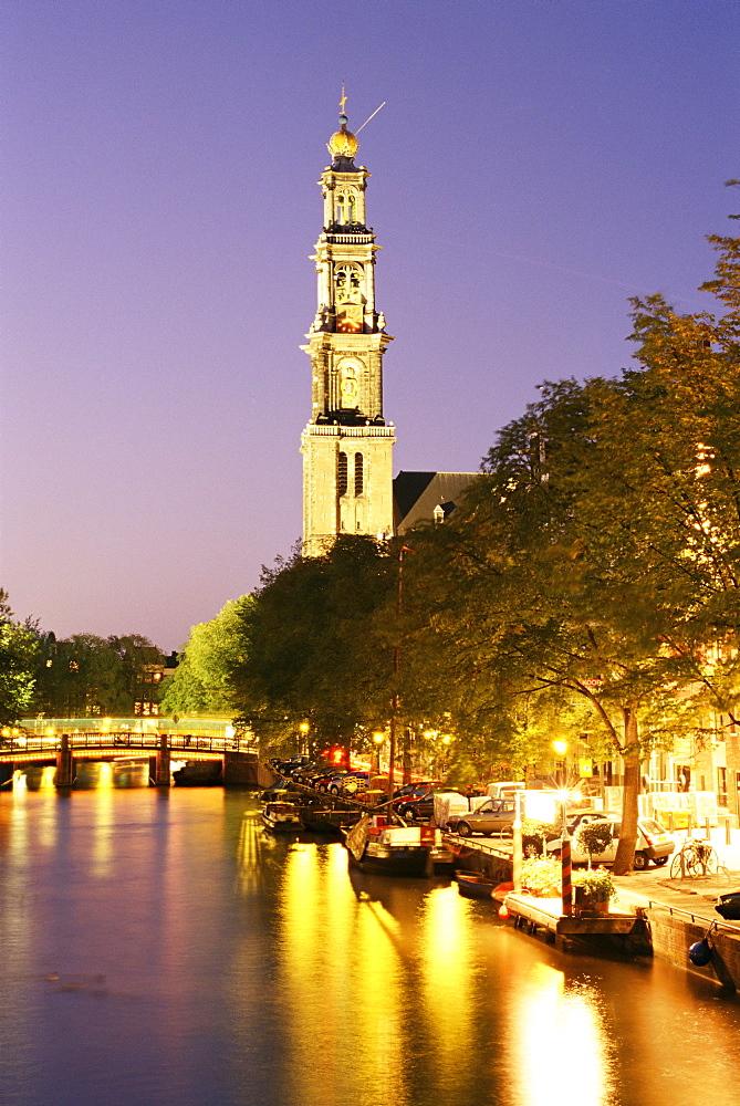 Westerkerk, Prinsengracht, Amsterdam, The Netherlands (Holland), Europe