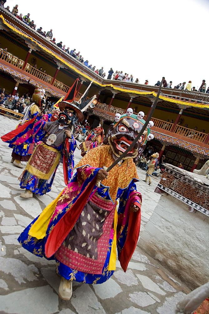 Hemis Festival, Lama dancing, Ladakh, India, Asia - 745-110