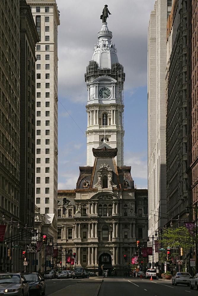 Philadelphia City Hall, Philadelphia, Pennsylvania, United States of America, North America
