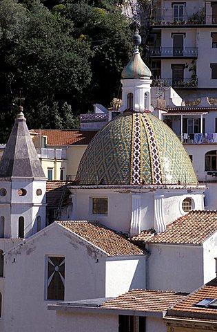 San Pietro church, Cetara, Campania, Italy