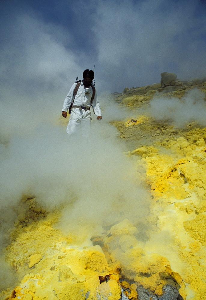 Researcher, Vulcano, Stromboli, Aeolian Islands, Sicily, Italy