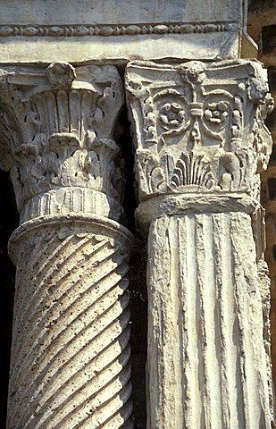 Roman Temple, Fonti del Clitunno, Umbria, Italy