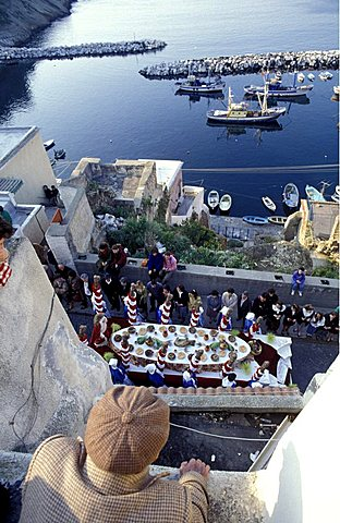 The procession of the Good Friday, Island of Procida, Campania, Italy