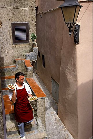 """Il Grembo"" Restaurant, Enrico Lubrani chef and owner , Isola Del Giglio, Toscana, Tuscany, Italy"
