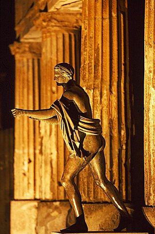 Apollo temple, Pompei, Campania, Italy