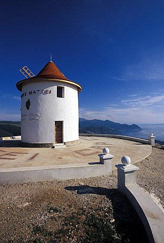 Mattei Mill, Cap Corse, Corsica island, France, Europe