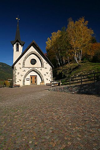 San Francesco church, Valle dei Mocheni, Trentino Alto Adige, Italy