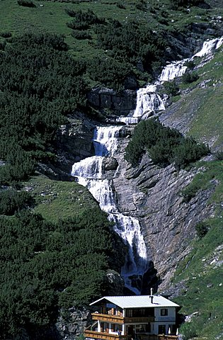 Braulio river, Stelvio National Park, Alto Adige, Italy