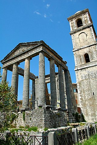 Ercole temple, Sermoneta, Lazio, Italy