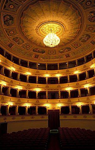 Teatro Pergolesi, Jesi, Ancona, Marche, Italy