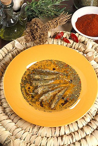 Pilchards in Locride way, Italy