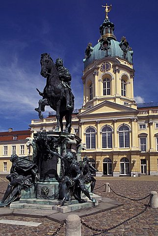 Charlottenburg Castle, Berlin, Germany, Europe