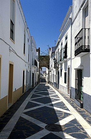 Historical centre, Olivenza, Extremadura region, Spain, Europe