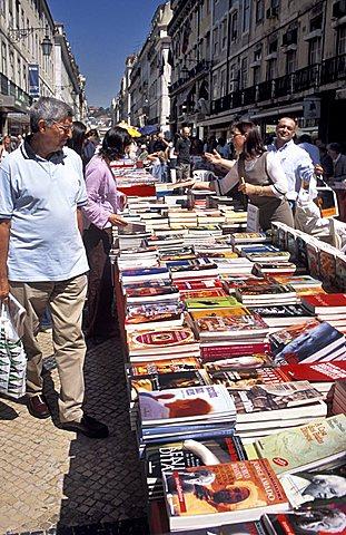 Market, Rua Augusta, Lisbona, Portugal, Europe