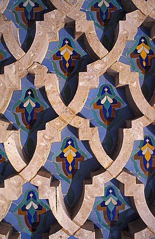 Hassan II Mosque, Casablanca, Grand Casablanca region, western Morocco, Morocco, North Africa, Africa