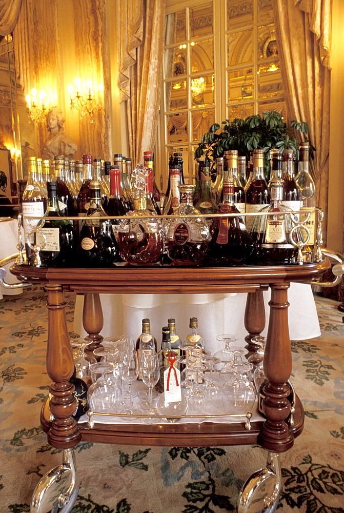 Drinks, Louis XV restaurant, Montecarlo, Principato di Monaco, Europe