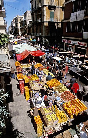 San Nicola market, Bari, Puglia, Italy