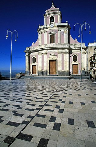 Church, Centuripe, Sicily, Italy