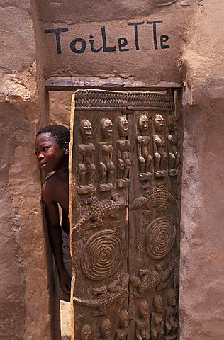 Sculpture from Mali, Republic of Mali, West Africa, Africa