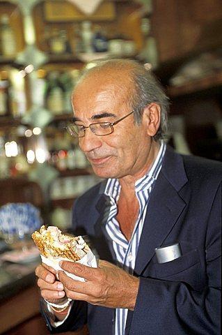 Gattullo café, Milan, Lombardy, Italy