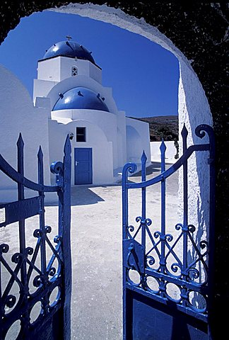 Analipsi monastery, Santorini island, Greece, Europe