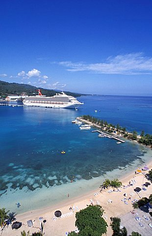 Landscape, Ocho Rios, Jamaica, Caribbean, West Indies, Central America