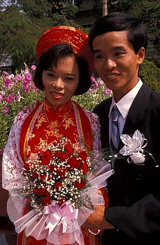 Wedding, Saigon, Vietnam, Indochina, Southeast Asia, Asia