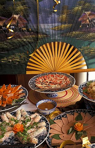 Typical food, Vietnam, Indochina, Southeast Asia, Asia