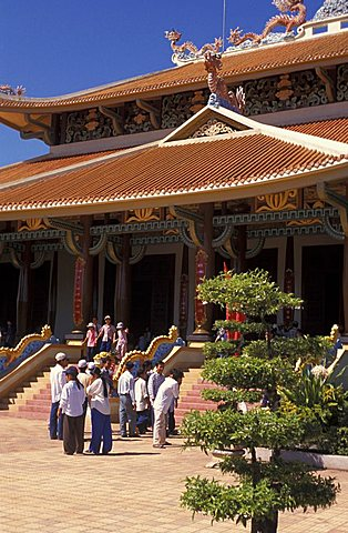 Den Ben Duoc temple, Cu Chi, Vietnam, Indochina, Southeast Asia, Asia