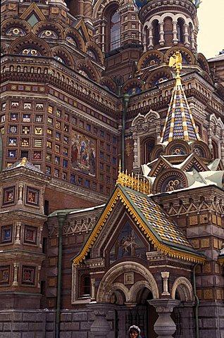 Christ's Resurrection church, Saint Petersburg, Russia, Europe