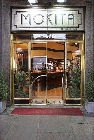 Mokita café, San Carlo square, Turin, Piedmont, Italy