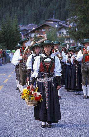 Fine Estate feast, Canazei, Trentino Alto Adige, Italy