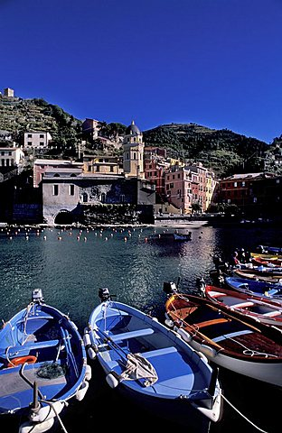 Cityscape, Vernazza, Ligury, Italy