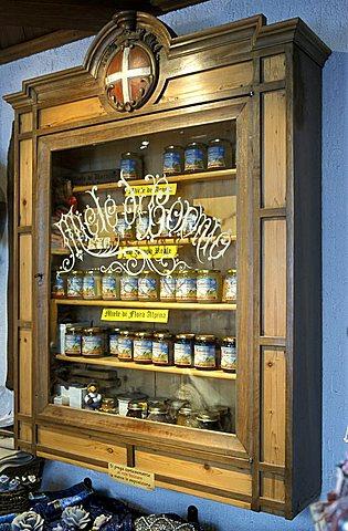 Al Soleir shop, Bormio, Lombardy, Italy