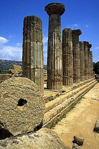 Ruin, Agrigento, Sicily, Italy