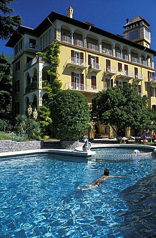 Bettoni villa, Gargnano, Lombardy, Italy