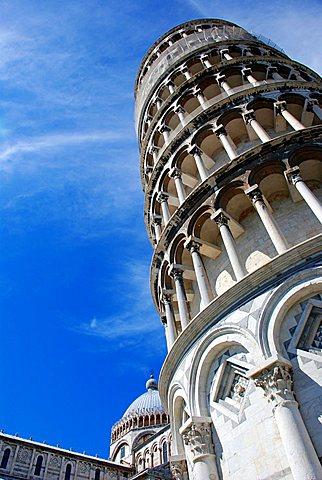 Torre Pendente, UNESCO World Heritage Site, Pisa, Tuscany, Italy, Europe