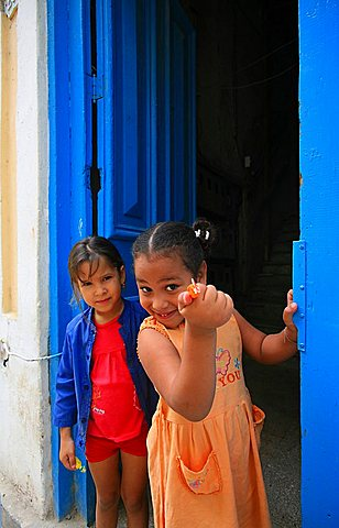 Children of Habana Vieja, Havana, Cuba, West Indies, Central America