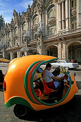 Cocotaxi, Havana, Cuba, West Indies, Central America