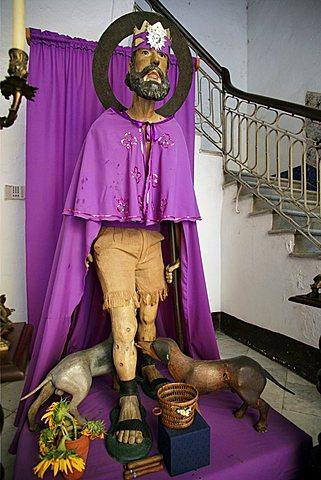 San Lazaro statue, Havana, Cuba, West Indies, Central America