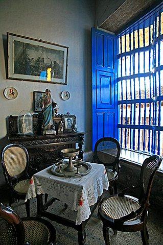 Crocodile house, Trinidad, Cuba, West Indies, Central America