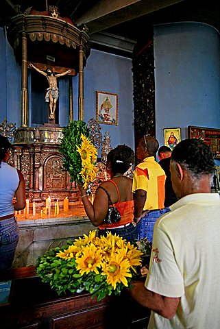 Virgen de la Caridad del Cobre sanctuary, Santiago de Cuba, Cuba, West Indies, Central America