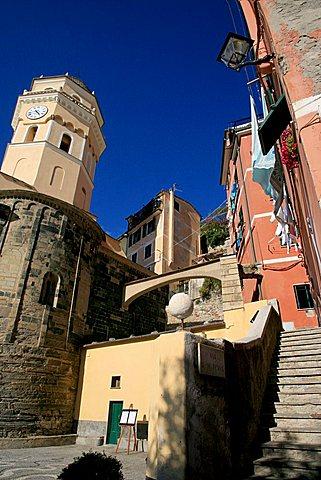 Vernazza, UNESCO World Heritage Site, Liguria, Italy, Europe